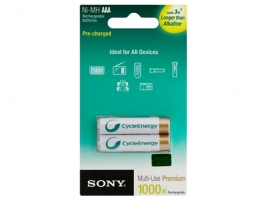 Sony Camera Rechargeable Battery  NH-AAA-B2KN