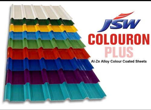 JSW Colouron+ Colour coated Metal Roofing Sheets
