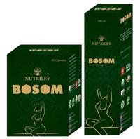 Bosom Breast Ayurveda Oil & Capsules for Women