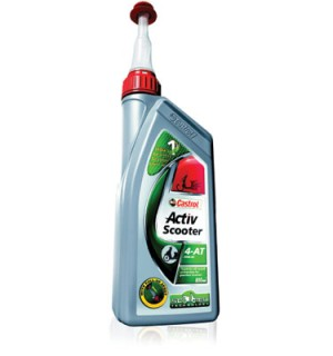 Castrol Activ Scooter Gearless Scooter Engine Oil