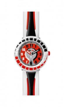 Swatch  ALL  AROUND  BLACK  &  RED  ZFCSP006  Watch
