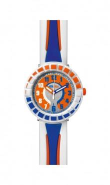Swatch  ALL  AROUND  BLUE  &  ORANGE  ZFCSP009   Watch