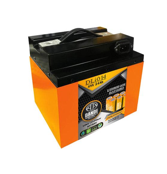 Dande DLI014 48V24AH Li-ion Battery for EV scooter / motor cycle
