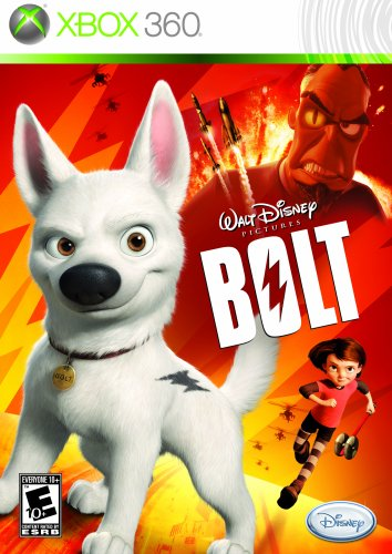 Disney Bolt Xbox 360 Game