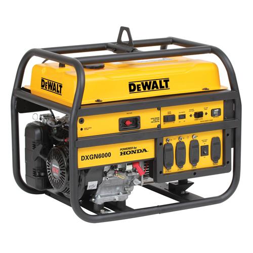 DeWalt DXGN6000 - 5.3 KVA Petrol Portable Generator