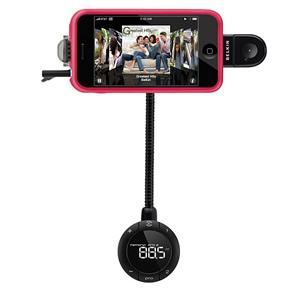Belkin TuneBase FM with Hands-Free For iPhone (F8Z441)