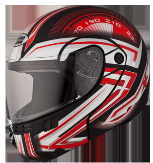Studds Ninja 3G With Decoration  Helmet