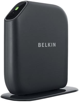 Belkin Play Max Modem Router (Black)