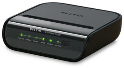 Belkin Wireless Router Horizontal (Black)