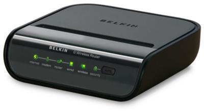 Belkin Wireless Router Horizontal (Black)