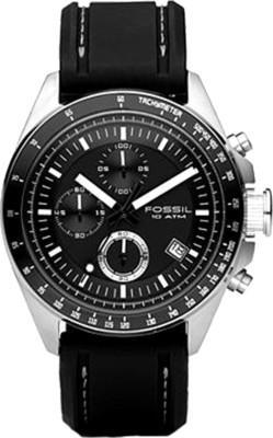 Fossil Decker Analog Watch - For Men (Black)