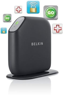Belkin Surf Modem Router (N) (Black)