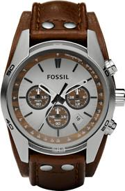 Fossil Analog Watch - For Men (Brown)