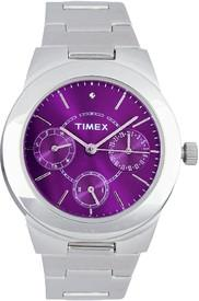 Timex Analog Watch - For Women (Silver)