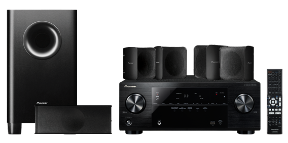 Pioneer Home theatre Systems HTP-522