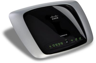 Cisco Linksys WAG160N Wireless-N ADSL2 Gateway(Black & Grey)