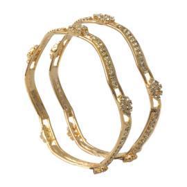 Noor (HI-1052 Gold) Bangles