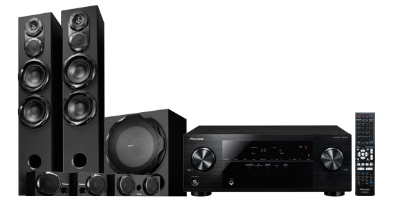 Pioneer Home theatre Systems HTPRS42