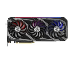Asus ROG Strix Geforce RTX 3090 Gaming 24 GB 384 bit GDDR6X PCI Express 4.0 x16 Video Graphics Card
