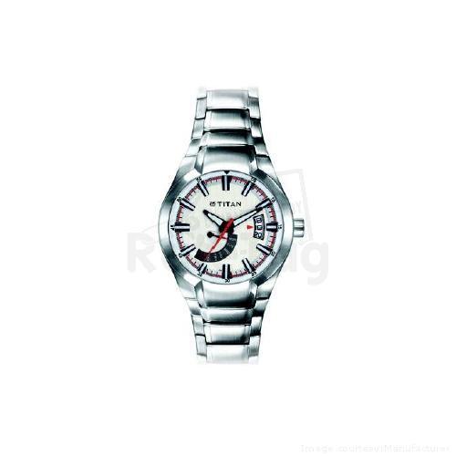 Titan Wrist Watch, 9209SM01, Octane, White Dial