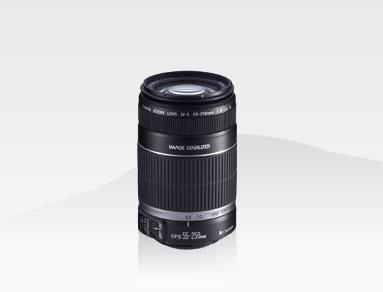 Canon Lens EF-S55-250mm f/4-5.6 IS