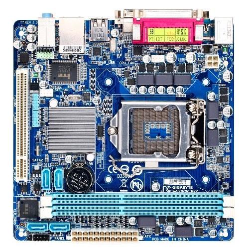 Gigabyte GA-H61N-D2V Motherboard