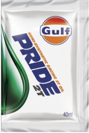 Gulf Pride 2T semi-synthetic Engine Oil for 2-Stroke bikes