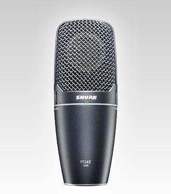 Shure PG 42-USB Vocal Microphone