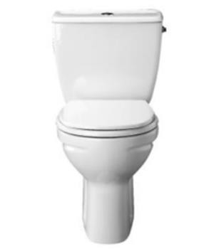 Kohler Atila 2-Pc S-trap toilet with Quiet-Close seat & cover - K-1868IN-S