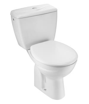 Kohler Atila 2-Pc P-trap toilet with Quiet-Close seat & cover - K-1804IN-S
