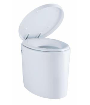 Kohler Purist Hatbox 1-Pc comfort height toilet with Quiet-Close seat & cover, 305mm rough-in, 240V - K-3492K