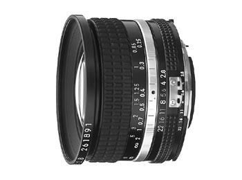 Nikon 20mm f/2.8 Nikkor lens