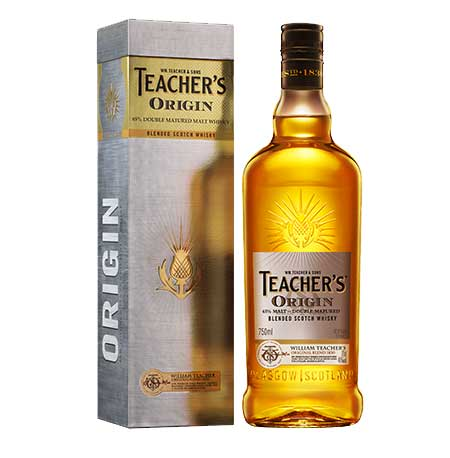 Teacher's Origin Blended Scotch Whisky 1 Litre