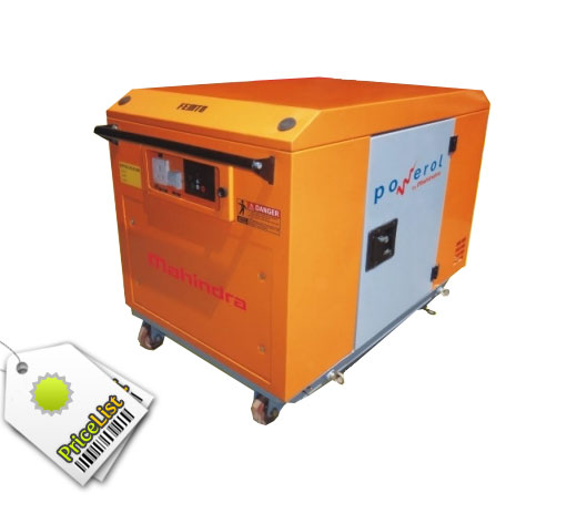 Mahindra powerol 2.5 kVA Diesel Portable Genset 0603 SI