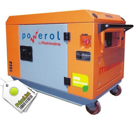 Mahindra powerol 5 kVA Diesel Portable Genset 1105 SI