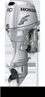 Honda 40 HP 4-Stroke Outboard boat engine