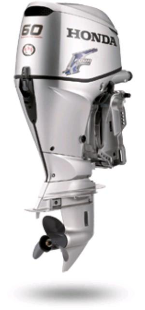 Honda 60 HP 4-Stroke Marine Outboard boat engine