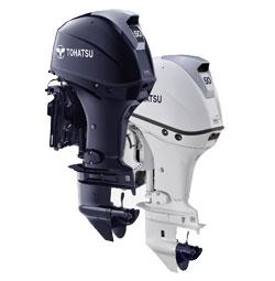 Tohatsu 50hp 4 stroke outboard boat engine MFS50