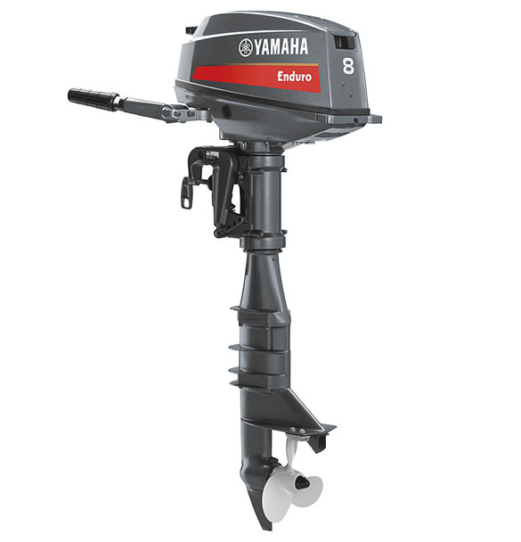 Yamaha E8D Enduro Marine Outboard boat engine In-line 2 5.9 (8)kW (ps) @5000 rpm