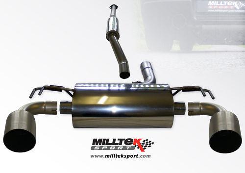 Milltek Cat-Back Exhaust system Mitsubishi Lancer Evolution X