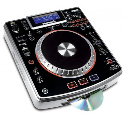 Numark NDX800 Professional DJ Player Software Controller with MP3/CD/USB