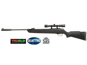 Hatsan 125 Air Rifle, Black Synthetic Stock Air Gun
