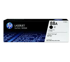 HP LJ P1007_P1008 Black Crtg Dual Pack
