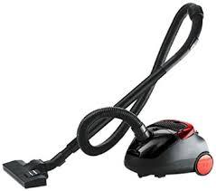 Eureka Forbes Trendy Zip Black & Red Vacuum Cleaner