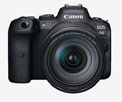 Canon EOS R6 Full-Frame Mirrorless Camera 20MP with 4K Video (Body only)