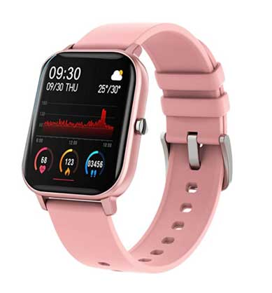 Fire Boltt 1.4 Inch Smartwatch with SPO2, Heart Rate, BP, Fitness tracking