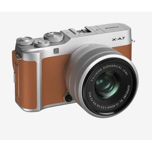 Fujifilm X-A7 (15-45mm Lens) F3.5-5.6 Mirrorless Digital Camera