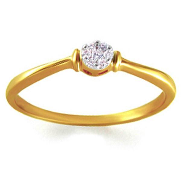 Gili TRI003 Ladies Ring 18KT Y Gold 1.5