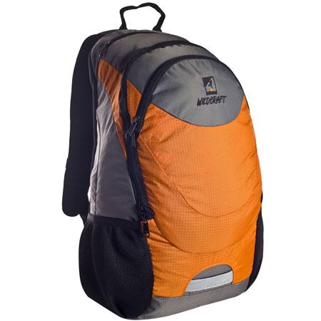 Wildcraft Daypack A4 Double Compartment Daypack in Color Orange