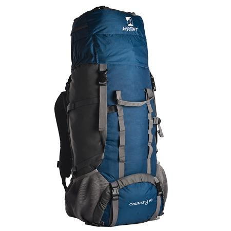 Wildcraft Cauvery 60 Top Loading Rucksack in Color Blue